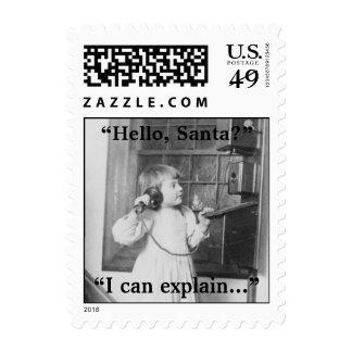 Hello, Santa? - Postage #2