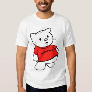 "Hello Scuzzy - ""Free Paris"" T-shirt"