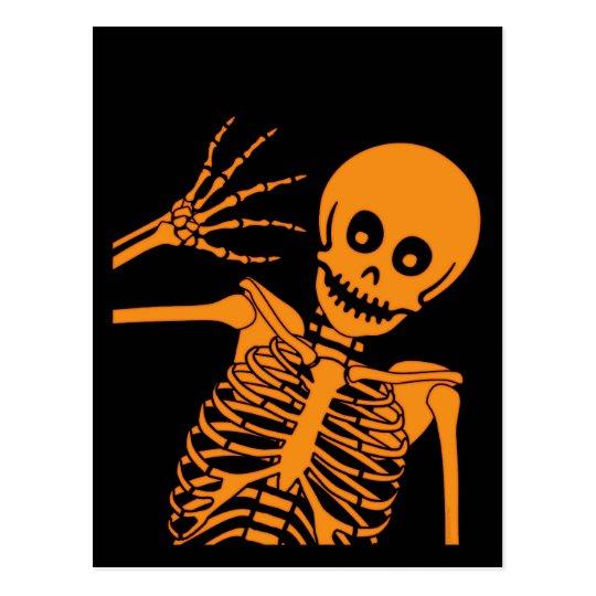 Hello Skeleton! Postcard