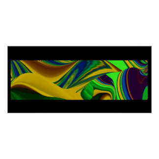Hello spring and Hello sunshine! Abstractly Poster