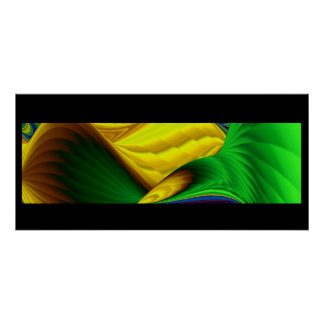 Hello spring and sunshine! Abstractly Poster