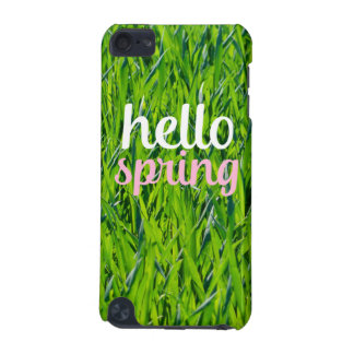 """""""Hello Spring"""" iPod Touch 5g Case"""