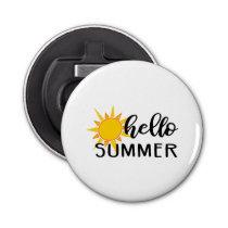 hello summer bottle opener