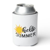 hello summer can cooler