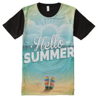 Hello Summer T-Shirts & Shirt Designs   Zazzle