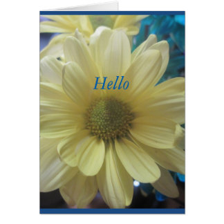 Hello Summer FLoral Card