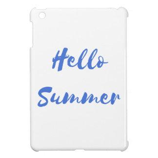 hello summer iPad mini cover