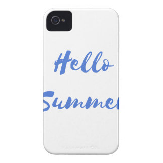 hello summer iPhone 4 Case-Mate case