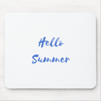 hello summer mouse pad
