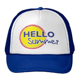 Hello Summer Trucker Hat