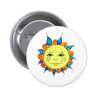 Hello Sunshine 2 Inch Round Button