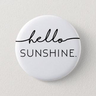 Hello Sunshine Button