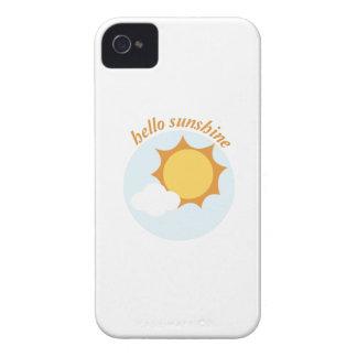 Hello Sunshine iPhone 4 Case-Mate Cases
