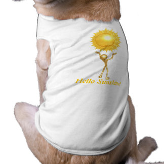 Hello Sunshine! - Doggie T Pet T-shirt
