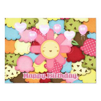 Hello Sunshine Happy Birthday Card