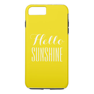Hello Sunshine I phone iPhone 7 plus case cover