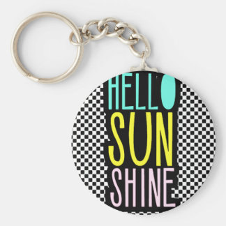 Hello SunShine Keychain