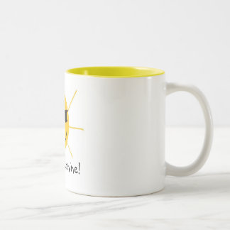 Hello, Sunshine! Two-Tone Coffee Mug