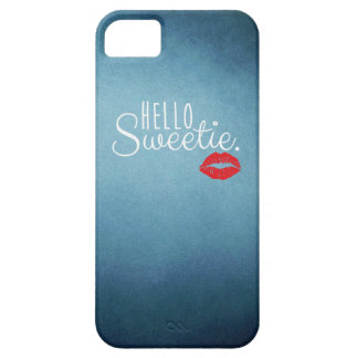 Hello Sweetie KISS iPhone SE/5/5s Case