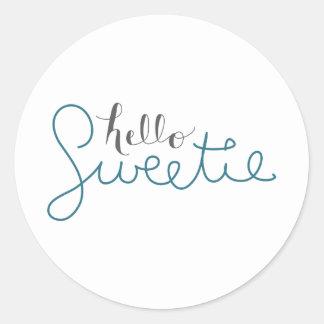 Hello Sweetie - Sticker