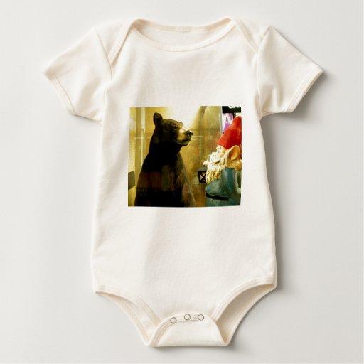 Hello There Bear Baby Bodysuit