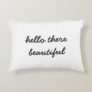 Hello There Beautiful Pillow