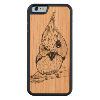 Hello There - Bird Phone Case Carved® Cherry iPhone 6 Bumper Case