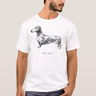 Hello There, Dachshund T-Shirt