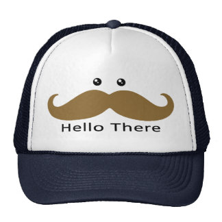 Hello There Hat (Brown)