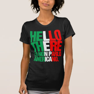 Hello There I don't Speak American tee
