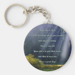 Hello this is God quote Key Chain