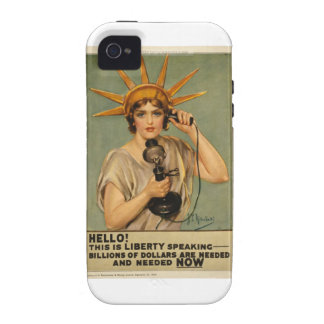 Hello! This is liberty speaking Vibe iPhone 4 Cover