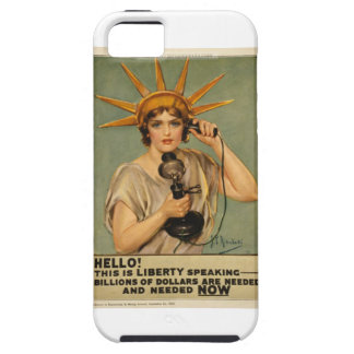 Hello! This is liberty speaking iPhone 5 Case