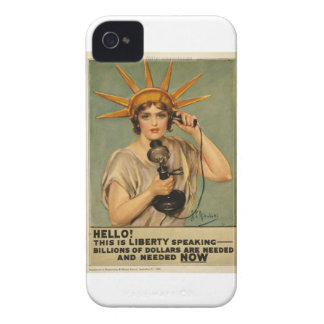 Hello! This is liberty speaking iPhone 4 Case-Mate Cases
