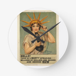 Hello This is liberty speaking Wall Clock