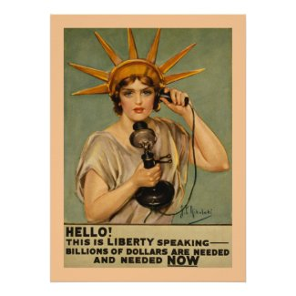 Hello! This is Liberty Speaking print