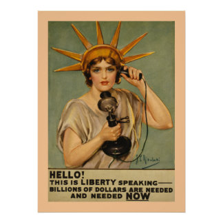 Hello! This is Liberty Speaking Posters