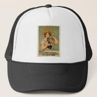 Hello! This is liberty speaking Trucker Hat
