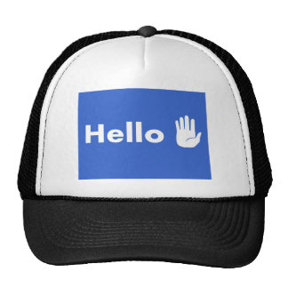 Hello Trucker Hat