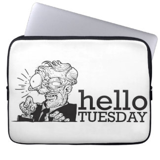 Hello Tuesday Laptop Sleeve