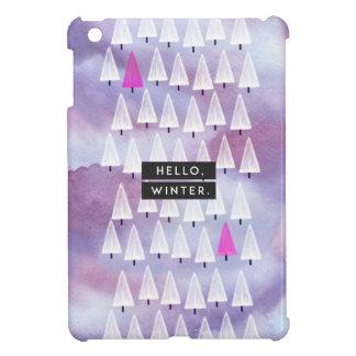 Hello, Winter: iPad Mini Cover