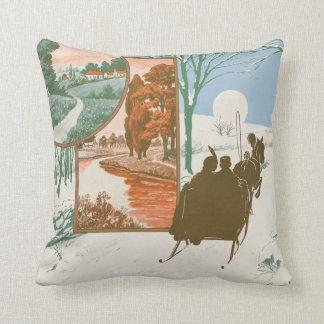 Hello Wintertime Pillow
