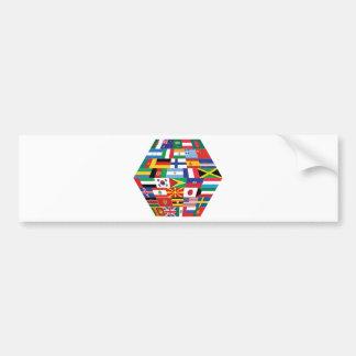Hello World :) Bumper Sticker