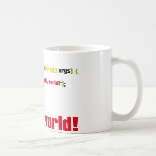 Hello, World! Coffee Mugs