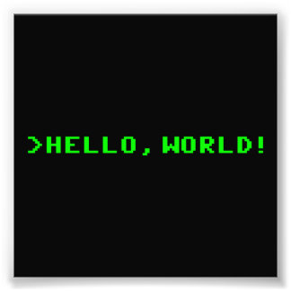 Hello World Computer Programming Photograph