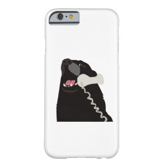 HELLO YES THIS IS DOG BARELY THERE iPhone 6 CASE