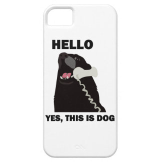 HELLO YES THIS IS DOG iPhone SE/5/5s CASE