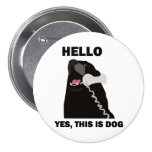 HELLO YES THIS IS DOG telephone phone Pin