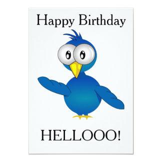 HELLOOO! BIRD CARD