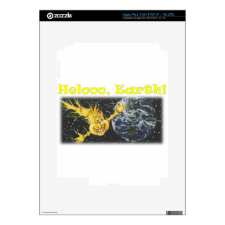 Hellooo, Earth Skin For iPad 3
